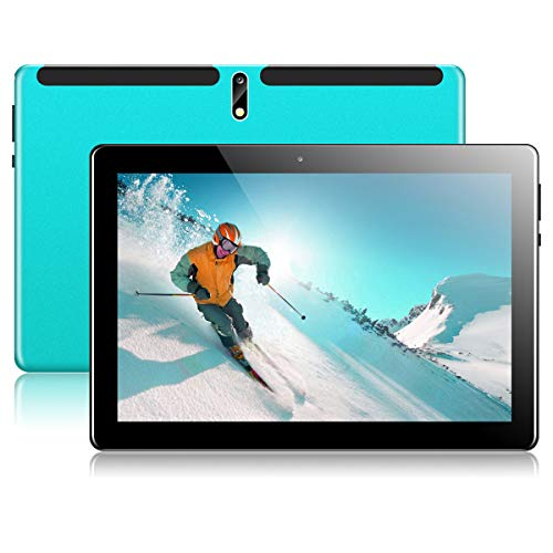 Tablet 10 Zoll Android Tablet PC mit Dual Simkarten Slot PADGENE 1280x800 Quad Core CPU Google Tablet PC USB/SD 2.0/8.0 MP Dual Kamera WiFi/3G Entsperrt Bluetooth 4,0 GPS Telefonfunktion