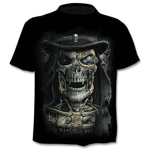 Camisetas 3Dt-Shirt Hombres Mujeres Moda Hip Hop Camiseta Streetwear Pullover Camiseta XXL 0616