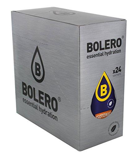 Bolero Bebida Instantanea sin Azucar, Isotonica, Sabor Naranja - Paquete de 24 x 9 gr - Total: 216 gr