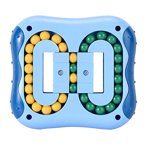 Cube Fidget Toy,Juguete de descompresión,Magic Bean Rotating Cube - Juego de Perlas cuadradas giratorias para ejercitar el Cerebro - Juguete Fidget IQ Magic Bean Toys