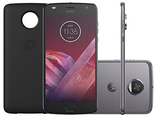 Smartphone Motorola Moto Z2 Play Style Edition, Platinum, XT1710-07, Tela de 5,5', 64GB, 12MP