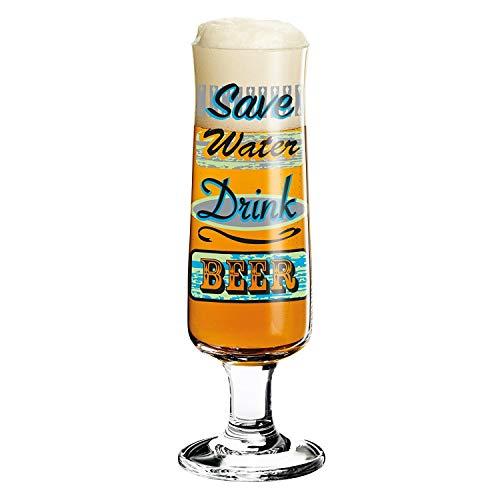 Ritzenhoff Beer bierglas, glas, meerkleurig, 5,5 cm