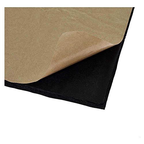 XBaofu 1pc 3D-Drucker Wärmedämmung Cotton 200/220 / 310mm Heatbed Aufkleber Folie Selbstklebende Isolierung Baumwolle for CR10 Ender 3 (Größe : 235x235mm)