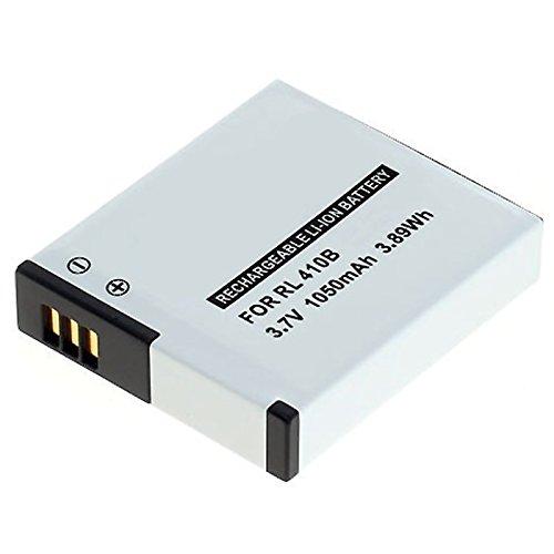 MeXXstar Batería para Rollei Action Cam 230, 240, 400, 410/Maginon AC de 800W/rl410b (1050mAh/3,89wh)