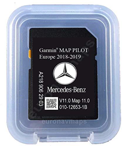 SD Card MERCEDES (Star1) GARMIN MAP PILOT Europe 2018 v10 (A2189062903)