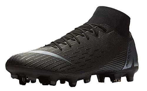 Nike Superfly 6 Academy FG/MG, Zapatillas de Fútbol para Hombre, Negro Anthracite/Black/Lt Crim 001, 45.5 EU
