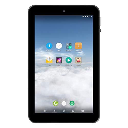 """766TPC-K - 7"""" 1024 × 600 Quad Core Cortex A7 1GB/16GB Tablet w/Keyboard Case (Purple)"""