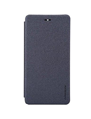 Nillkin Sparkle - Carcasa tipo funda libro protectora y antideslizante para Xiaomi M4 / Mi4 - Negro