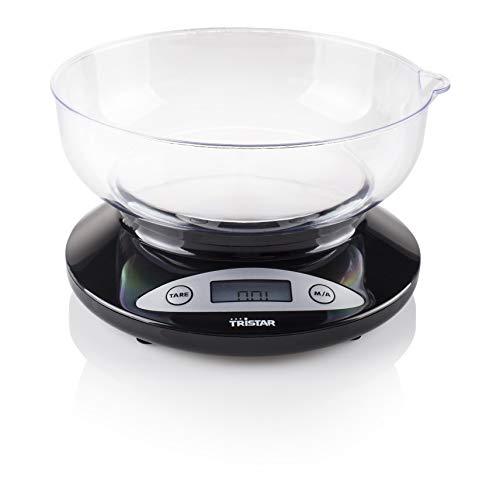 Tristar KW-2430 Báscula de cocina, Negro