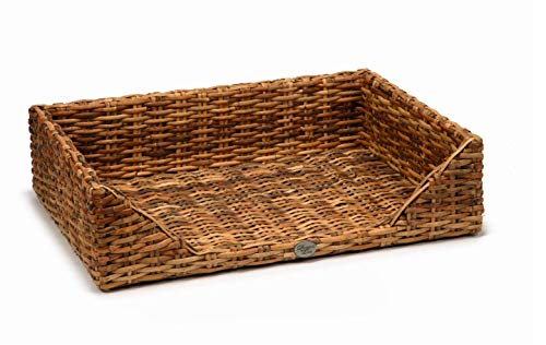 Beeztees K&Bz Dbl Rattan Dog Basket Eton 100X70X25 600 g