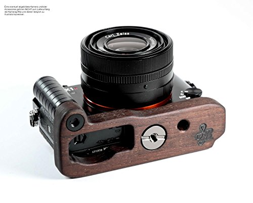 J.B. Camera Designs Pro Wood Grip for Sony RX1RM2 (RX1R II) - Handmade in the USA
