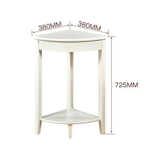 ZHEN GUO 2 beugels van hout, kleine hoeken, tafel, ontvangsttafel, opslag, rek, telefoon, lamp, tafel, ingang, plant, standaard, meubels