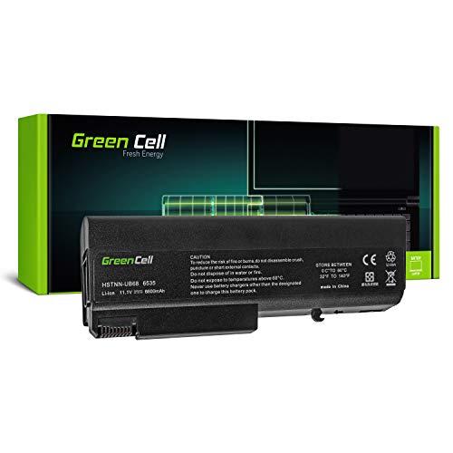 Green Cell® Extended Serie TD06 TD09 Batería para HP EliteBook 6930p 8440p 8440w ProBook 6450b 6540b 6550b 6555b Compaq 6530b 6730b 6735b Ordenador (9 Celdas 6600mAh 10.8V Negro)