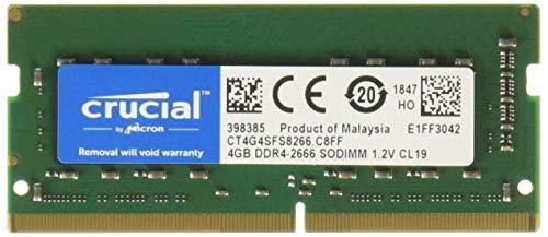 Crucial CT4G4SFS8266 módulo de - Memoria 4 GB