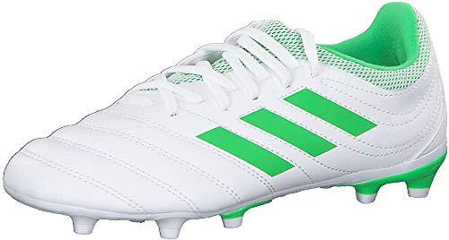 Adidas Copa 19.3 FG J, Zapatillas de Deporte Unisex Adulto, Multicolor (Ftwbla/Limsol/Ftwbla 000), 38 2/3 EU