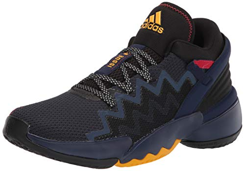 adidas Men's D.O.N. Issue 2 GCA Basketball Shoe, Team Navy Blue/Team College Gold/Black, 10