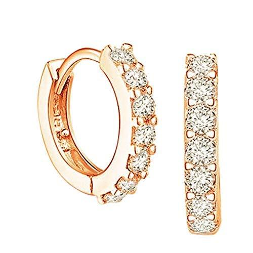 Pendientes simples para mujer, regalos de joyería, pendientes de circonita, pendientes de moda para damas, accesorios para damas, joyería..