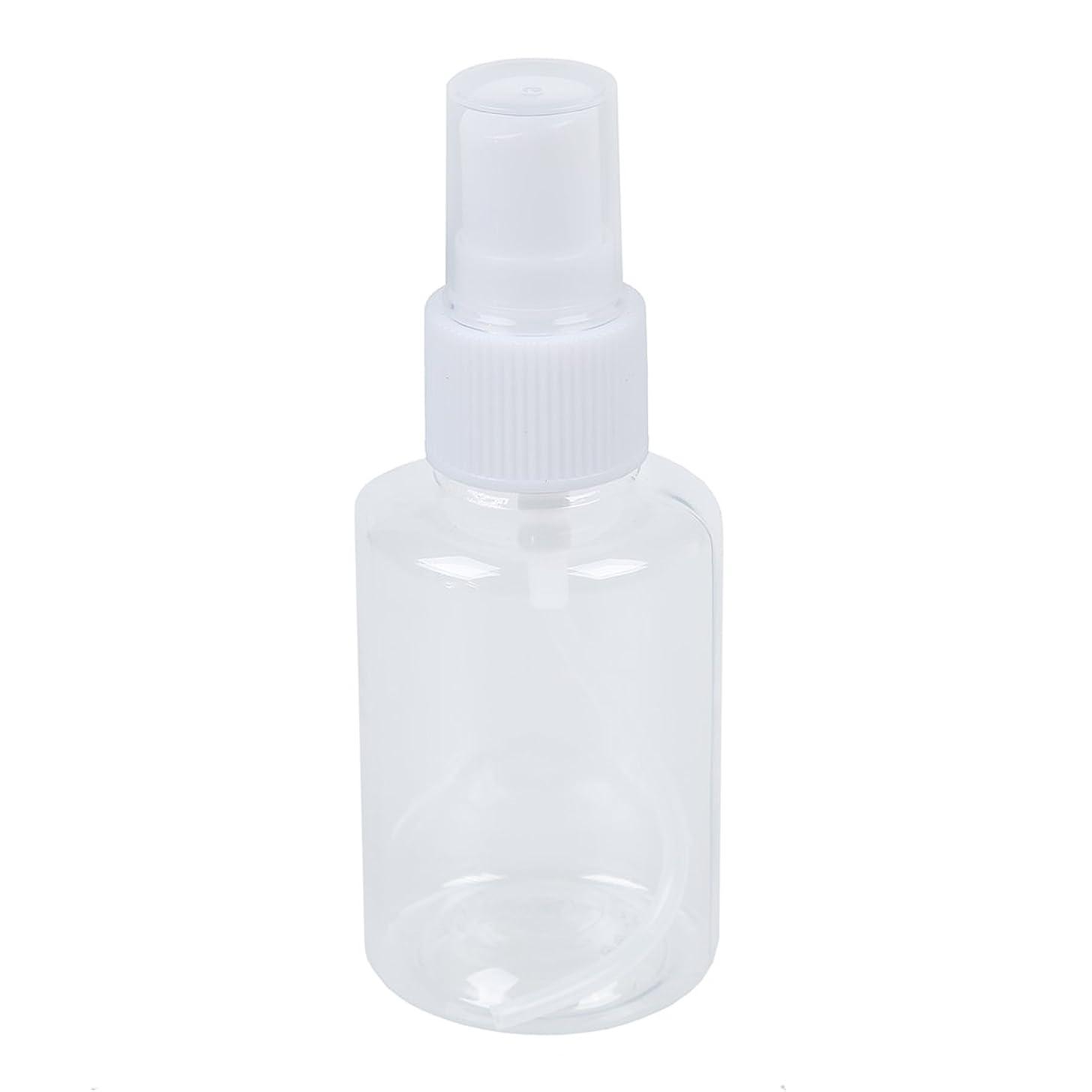 Gaoominy Gaoominy(R)50ml香水アトマイザーメイクアップ化粧品スプレーボトルホワイトクリア2PCS