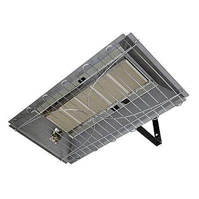 Dyna-Glo 33,000 BTU Natural Gas Overhead Infrared Garage Heater, Grey
