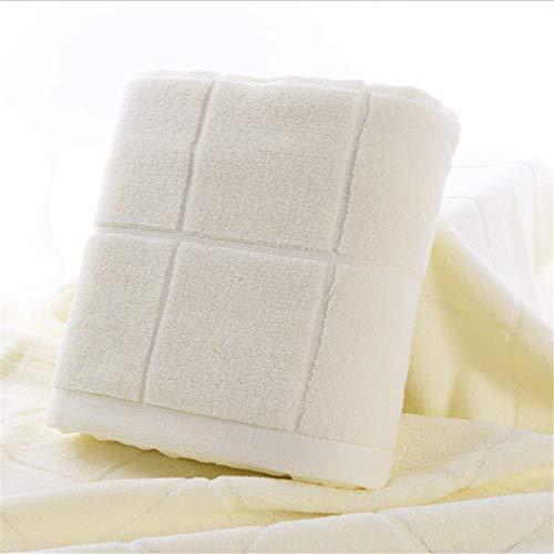 dfjd Schlichte Reinigung Handtuch Hakenkreuz Komfortable Hautfreundliche Gaze Bad Handtuch Waschen Gesicht Absorbwasser Baumwolltuch 140 X 70Cm Weiß