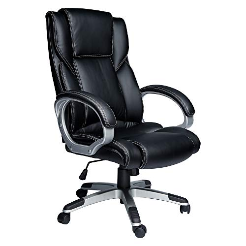 High Back Office Chairs,Computer Desk Chair,Leather Office...