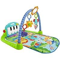 Fisher-Price Gimnasio-piano pataditas, manta de juego para bebé (Mattel BMH49)