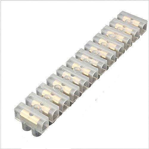 WFBD-CN Batterieklemmen Schraubanschluss Barrier-Anschluss 2ST-elektrischen Draht Anschluss 12Position Anschlussleiste Block-30A