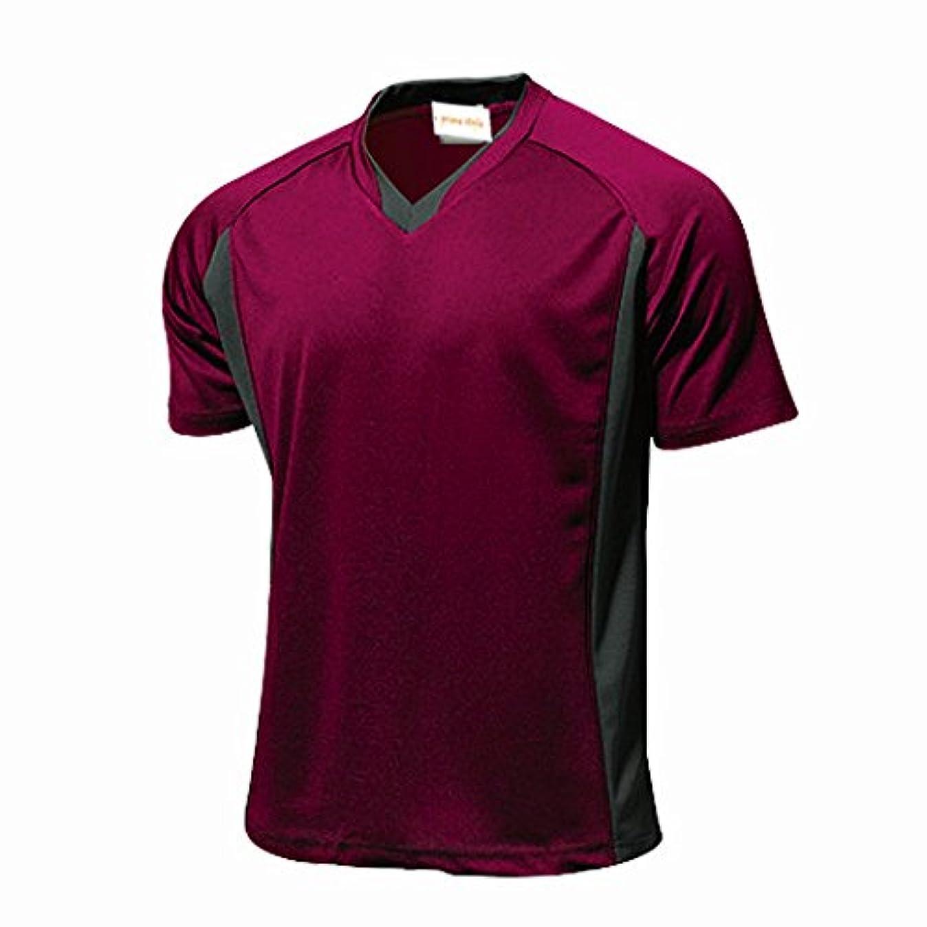 露配置バナナprime style 全11色 ベーシック 半袖 サッカーシャツ 練習着 ユニホームベース フットサルチームシャツ 作製ベース用にも