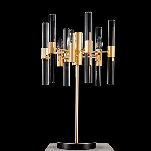 LLYU kristallen stang tafeldecoratie moderne lamp Nordic Creative persoonlijkheid slaapkamer bedlampje woonkamer woonkamer sfeer eenvoudige verlichting