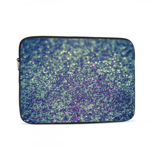 Macbook Air Hard CasePseudo Glitter Effect Silver Purple Abstract Filtered Macbook Accessories 13 Inch Multi-Color & Size Choices 10/12/13/15/17 Inch Computer Tablet Briefcase Carrying Bag