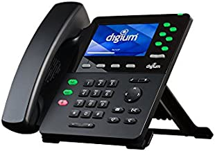 Digium D65 1TELD0065LF 6 Line Executive HD Phone Color LCD PoE