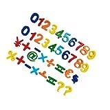 Pegatinas magnéticas magnéticas letras del alfabeto y números de conjunto para los niños por las letras magnéticas Números y símbolos de la matemáticas de 37pcs Set de juguetes educativos