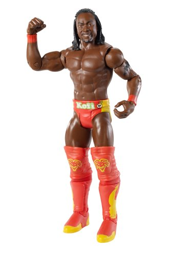 WWE Best Of 2011 Kofi Kingston Figurine Wrestling