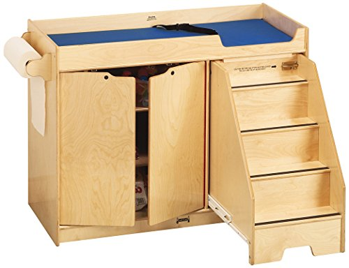 Jonti-Craft 5137JC Changing Table with Stairs, Right