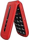 Ushining Unlocked Big Button Flip Phone for Seniors, Dual