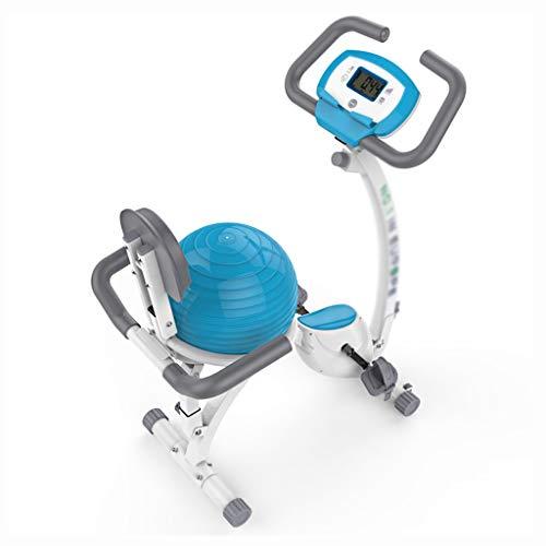 Trainingsapparaten Spinning fiets steppers for de oefening magnetische controle sportieve fiets indoor fitness apparatuur stil overdekte fietsenstalling (Color : White, Size : 41 * 83 * 122cm)