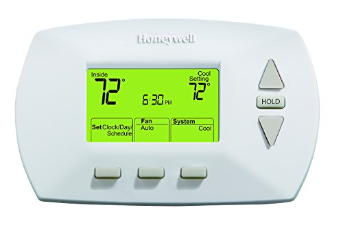 Honeywell Home RTH6450D 5-1-1 Day Programmable Thermostat, White