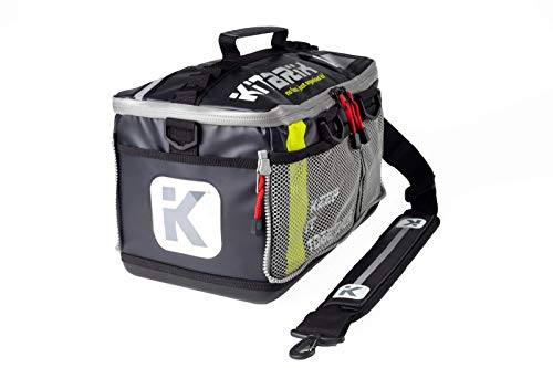 KitBrix Bag Backpack - Organized Kit for Triathlon Swimming Running Cycling OCR - Black