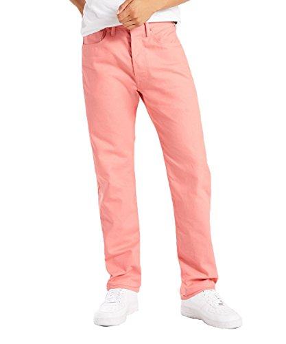 Levi's Uomo Jean 501 originale shrink-to-fit Jeans - Arancione - 44W x 32L