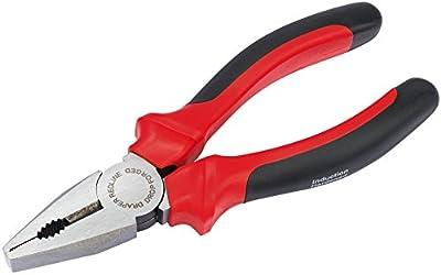 Draper Redline 67925 160 mm Combination Pliers with Soft Grip Handles