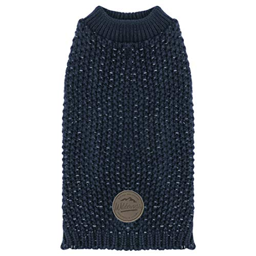 kyeese Dog Sweaters Reflective Medium Dog Sweater Heavy Pullover for Fall Winter