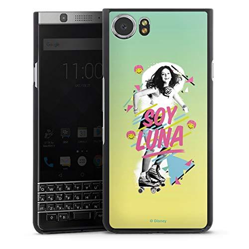 DeinDesign Hard Hülle kompatibel mit BlackBerry KeyOne Schutzhülle schwarz Smartphone Backcover Soy Luna Disney Serienmotiv