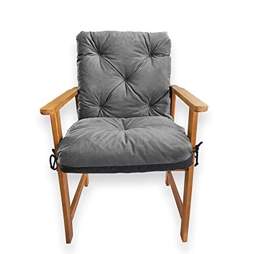 4L Textil ✓ Gartenbankauflage ✓ Hollywoodschaukeln ✓ Bankauflage ✓ Bankkissen ✓ Sitzkissen und Rückenkissen ✓ Polsterauflage ✓ Sitzpolster ✓ Gartenpolster ✓ Pflegeleicht (50x50x50, Graphit)
