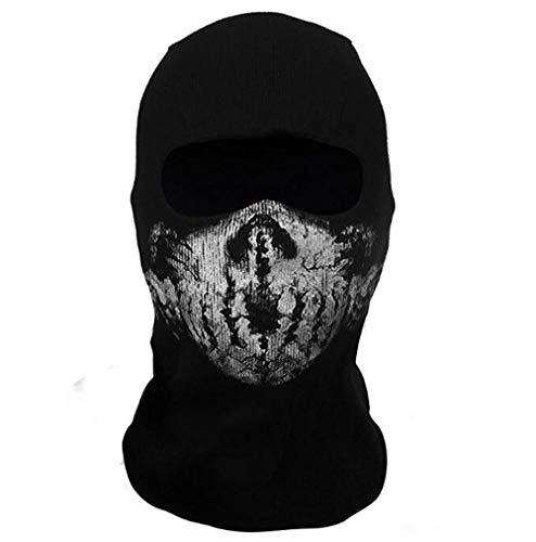 Black Sugar Unisex Ghost Totenkopf...