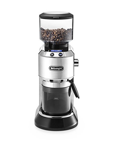 De'Longhi Electric Coffee Grinders, Black, KG521M