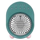 FECAMOS Enfriador De Aire, Ventilador De Enfriamiento De Gran Capacidad De 200 Ml para Proporcionar Un Mejor Aire Y Disfrutar del Verano Fresco(Verde)
