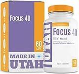 Salt Lake Supplements Brain Booster Focus 40 Brain Formula Powerful Nootropic and Brain Supplement...