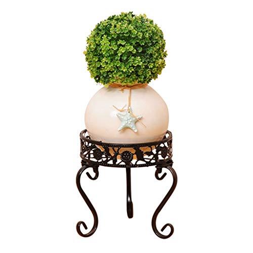 Support à fleurs Support à casseroles multicouches Étagère à fleurs pour salon de balcon Étagère à fleurs charnues pour radis vert et vert Étagère à fleurs à deux niveaux