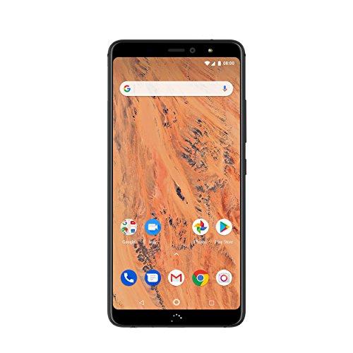 BQ C000314 Aquaris X2 Smartphone, 32 GB, Dual Nano SIM, Carbon Black
