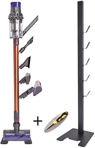 Buy Bargain ismartmoon Drill-Free Floor Storage Stand Docking Station Bracket Holder for Dyson V11 V...